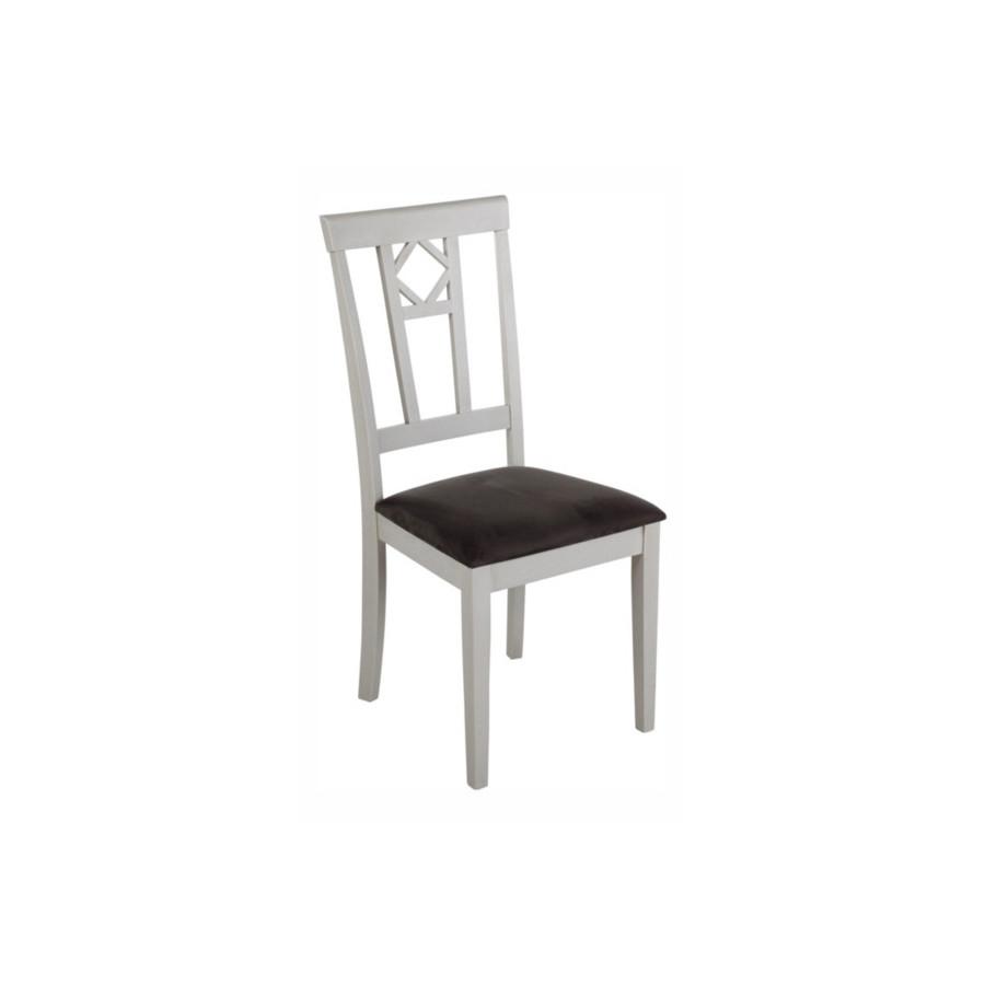 Chaise CAMILLE Bois/tissu
